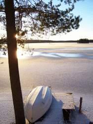 Vinter vid Rämen